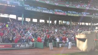 Duck Boats leaving Fenway- 2013 Rolling Rally