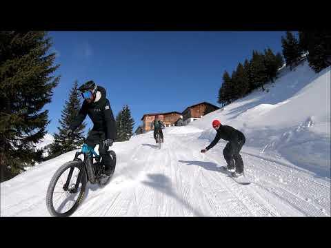 SNOWRIDE  Damüls 4K Trailer