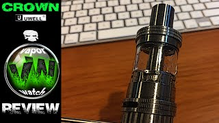 Crown V1 Subohm Tank by UWell REVIEW! Is This the KING???