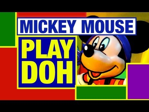 Play-Doh Disney Mickey Mouse Adventure Play doh Toy Review by Mike Mozart of TheToyChannel