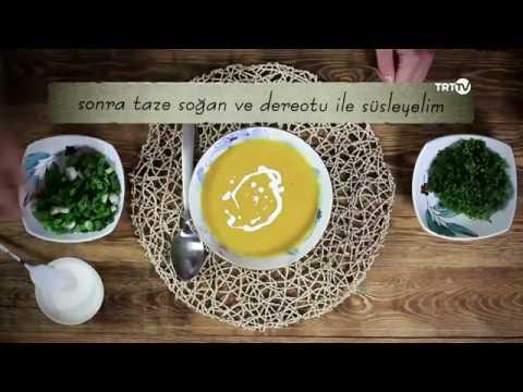 Farklı lezzet arayanlara bal kabağı çorbası…