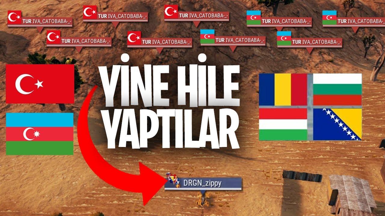 FİNALDE HİLE YAPTILAR AMA BEDELİ AĞIR OLDU Türkiye Azerbaycan VS Balkan Ülkeleri PUBG Lite Maçı