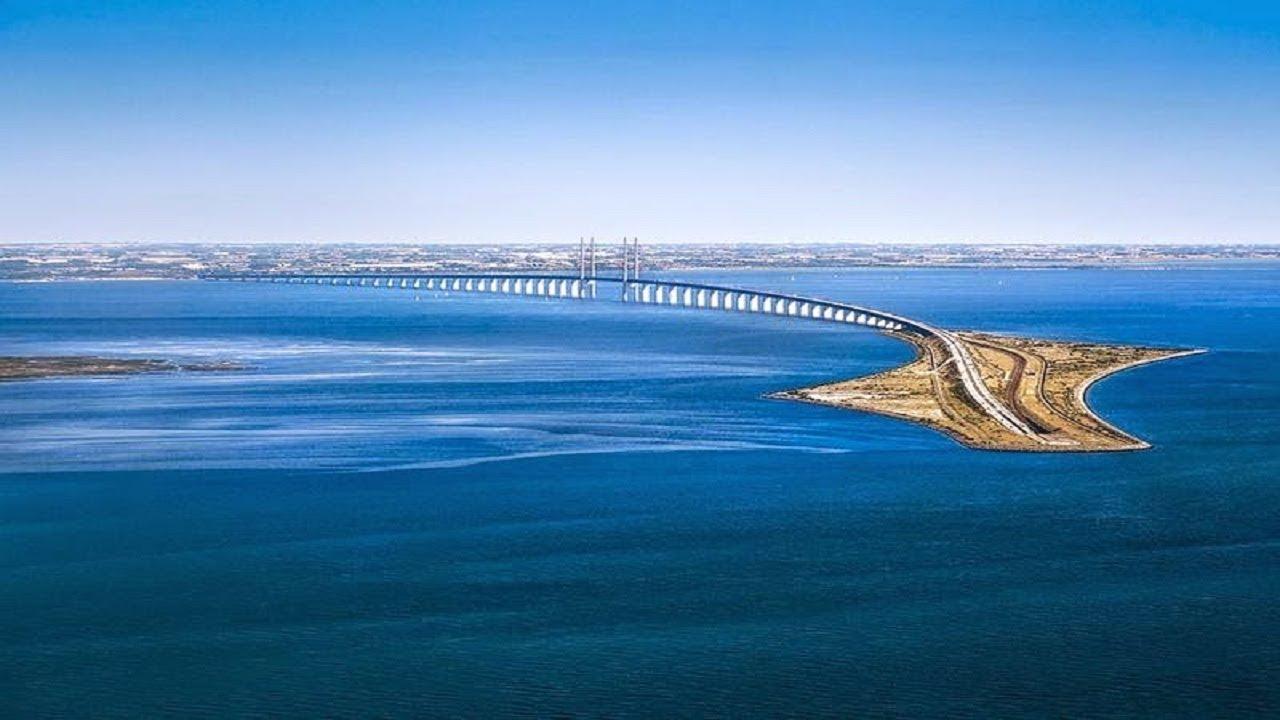 Øresund Bridge Turns Into A Tunnel And Connects Denmark Sweden