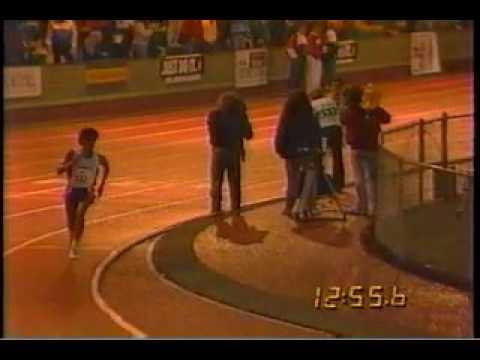 Joe Falcon — tremendous kick in the 5000m — 1990 Prefontaine Meet