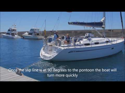 How to use a Transom spring