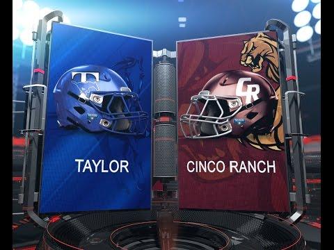 Taylor vs Cinco Ranch: 1st Half 10/16/2015