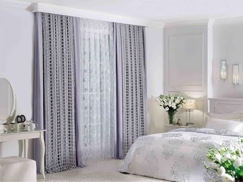 Bedroom Curtain Ideas Small Rooms - YouTube
