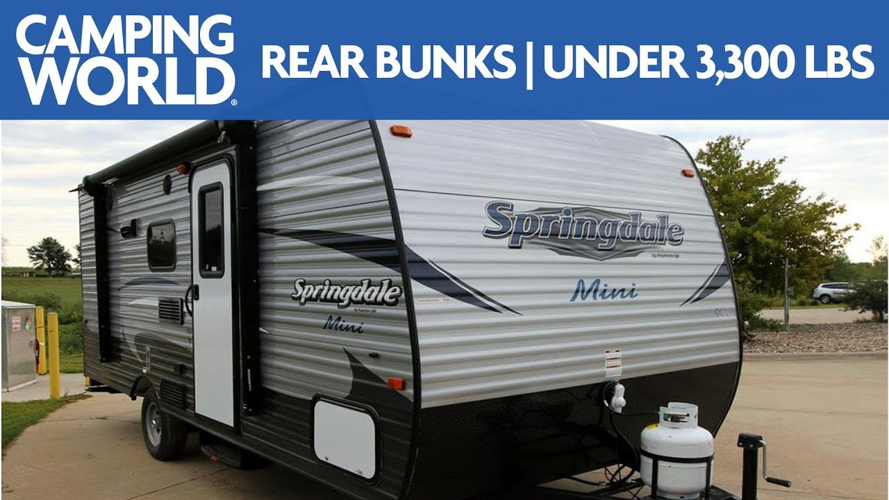 Best Travel Trailers Under 4000 Pounds (Ultra Light Trailers)