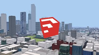 SketchUp: City V5 Speed-Build • Part 6 - Detailed Texturin...