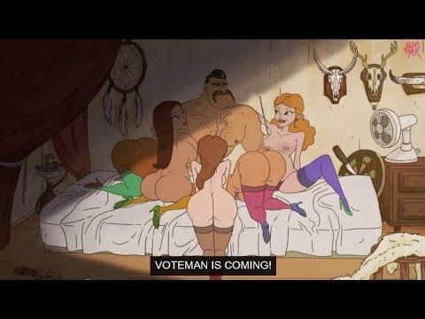 Voteman - (Engilsh) Folketingets omstridte valgfilm