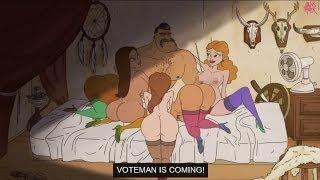Voteman - (Engilsh) el Parlamento disputado valgfilm