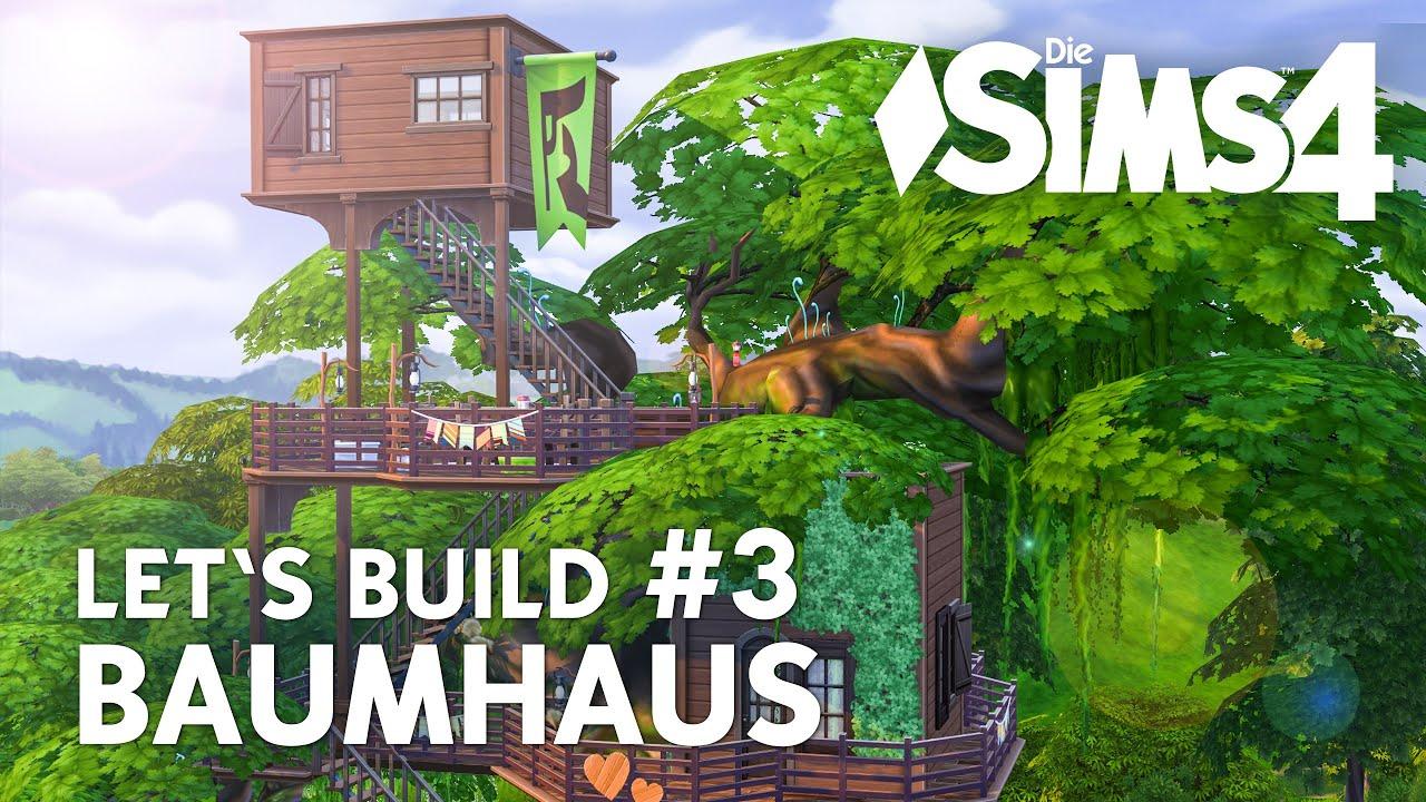Geheimversteck Bauen die sims 4 let 39 s build baumhaus 3 haus garten bauen