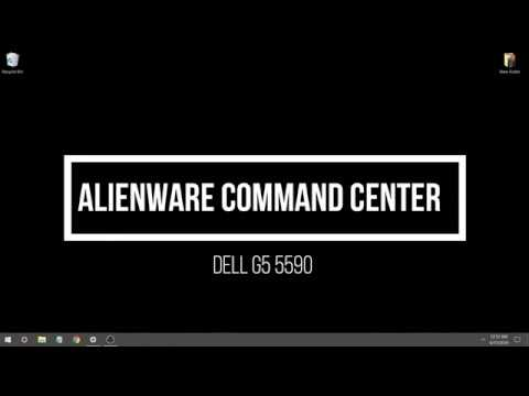 How to use Alienware Command Center on G5 5590