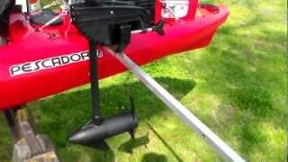 fishing kayak setup