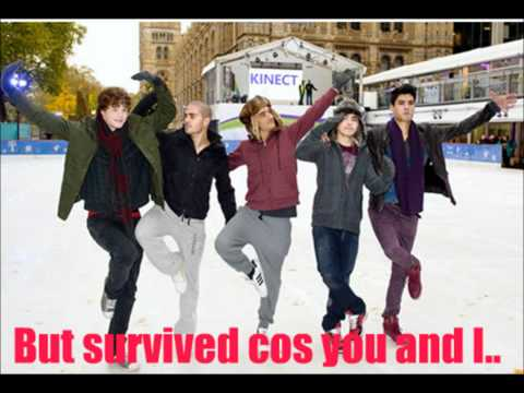 The Wanted - Golden - With Lyrics