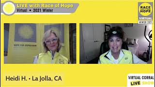 Race for Hope Feb 27, 2021 #IRaceForHope #Run4Hope #BrainBoss
