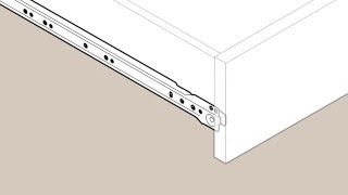 Liberty - European Bottom Mount Drawer Slide - Installation Video