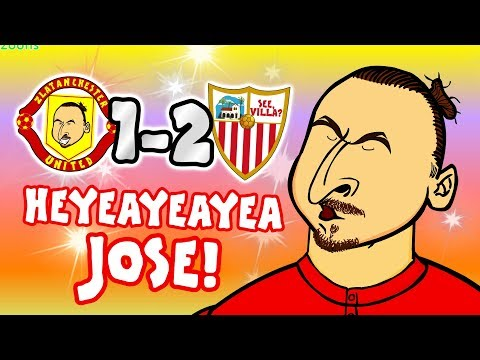 🤣HEYEAYEAYEA JOSE! What's going on?🤣 (Man Utd vs Sevilla 1-2 Song Parody Goals Highlights)