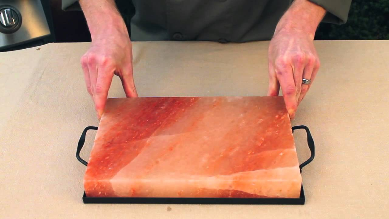 How To Care For Your Himalayan Salt Plate Youtube