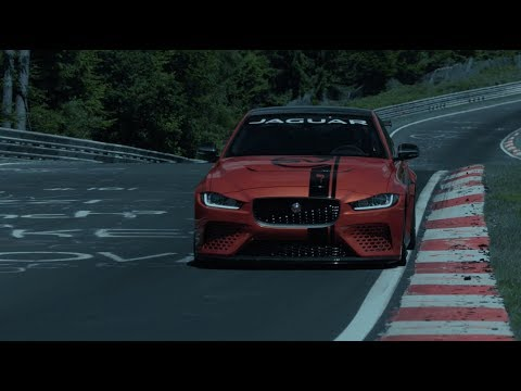Jaguar XE SV Project 8 | Expert Team of Engineers