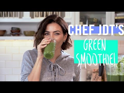 The ONLY Green Smoothie Recipe You Need To Know | Jenna Dewan Tatum