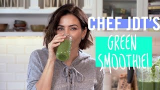 The ONLY Green Smoothie Recipe You Need To Know I Jenna Dewan Tatum