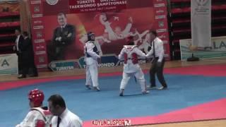 62kg Serpil Soy vs Rabia Yılmaz (2017 Turkish TKD Championships -21)