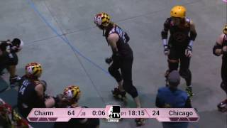 Charm City Roller Girls v The Chicago Outfit: 2013 WFTDA D1 Playoffs in Salem