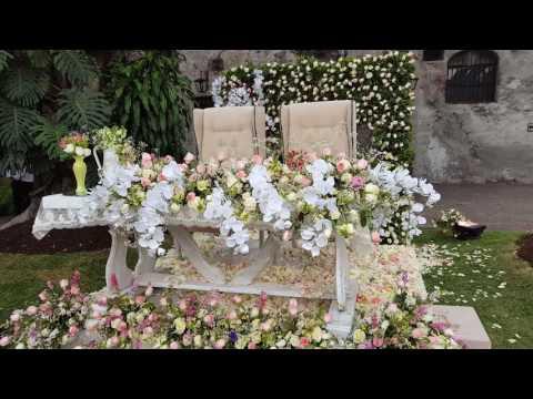 Df mesa de novios para boda en jardin youtube - Mesas de jardin ...