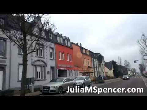 Drive through German & Luxembourg Neighborhoods