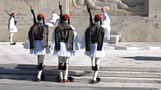 Changing Of The Guard, Athens, Greece.
