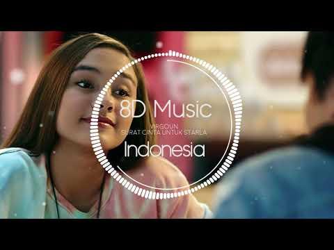 Virgoun - Surat Cinta Untuk Starla 8D AUDIO (8D Music Indonesia)