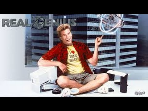 Real Genius 1985 with  Val Kilmer, Gabriel Jarret, Michelle Meyrink movie
