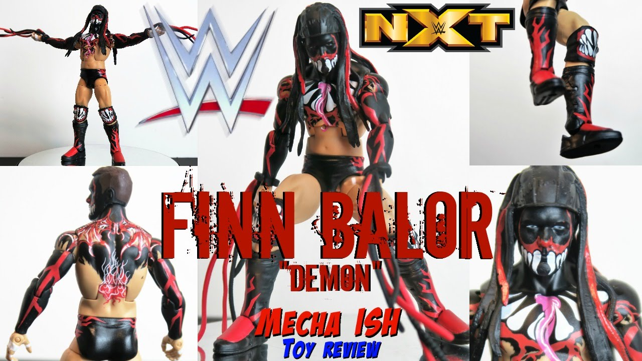 Wwe Elite Series 41 Finn Balor Action Figure Toy Review Youtube