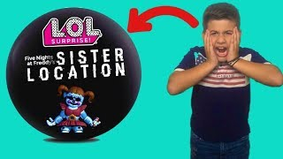 LOL Surprise Ball FNAF. Sister Location unboxing/ Famous Toli