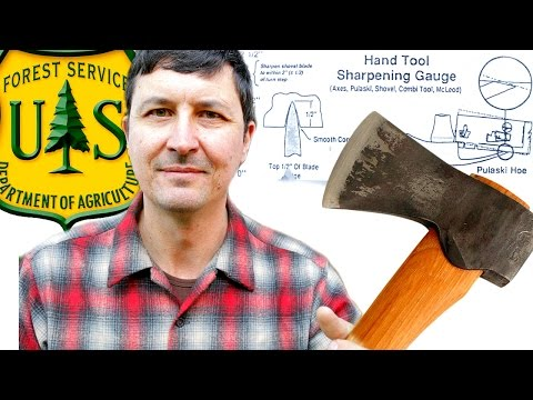 Axe Tricks Of The U.S. Forest Service