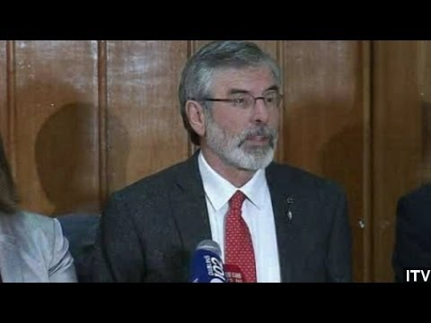 Gerry Adams Released After Four Days Of Police Questioning