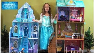 Video Princess Story: Frozen Princess Anna and Queen Elsa Sleepover: Frozen Elsa Castle, Arendale Palace download MP3, 3GP, MP4, WEBM, AVI, FLV Desember 2017