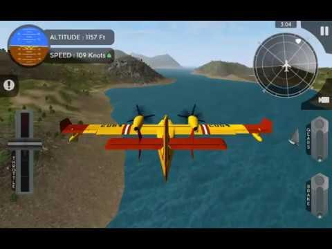 Avion Flight Simulator Canadair CL415