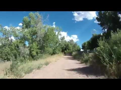 Arkansas River Trail Bicycling in Cañon City, CO  06/29/14