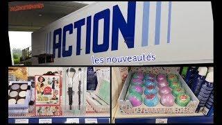 Petit tour chez Action pour voir les dernières nouveautés + Haul Action (claye-souilly le 8/06)