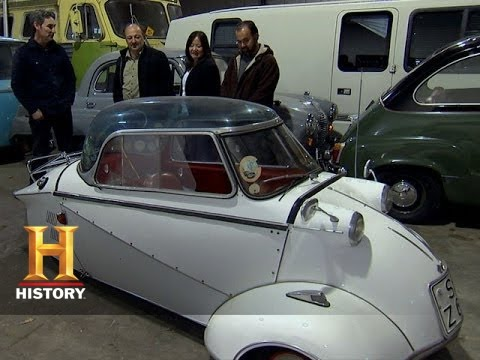 American Pickers: Mike Negotiates For An Antique Car | History