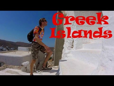 Exploring GREECE! Tour of an Exquisite Greek Islands Village