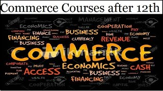 Best Career Options After 12th | what after 12th | COURSE AFTER 12TH COMMERCE