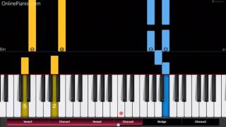 Video Rachel Platten - Fight Song - EASY Piano Tutorial - How to play Fight Song on piano download MP3, 3GP, MP4, WEBM, AVI, FLV Juni 2018
