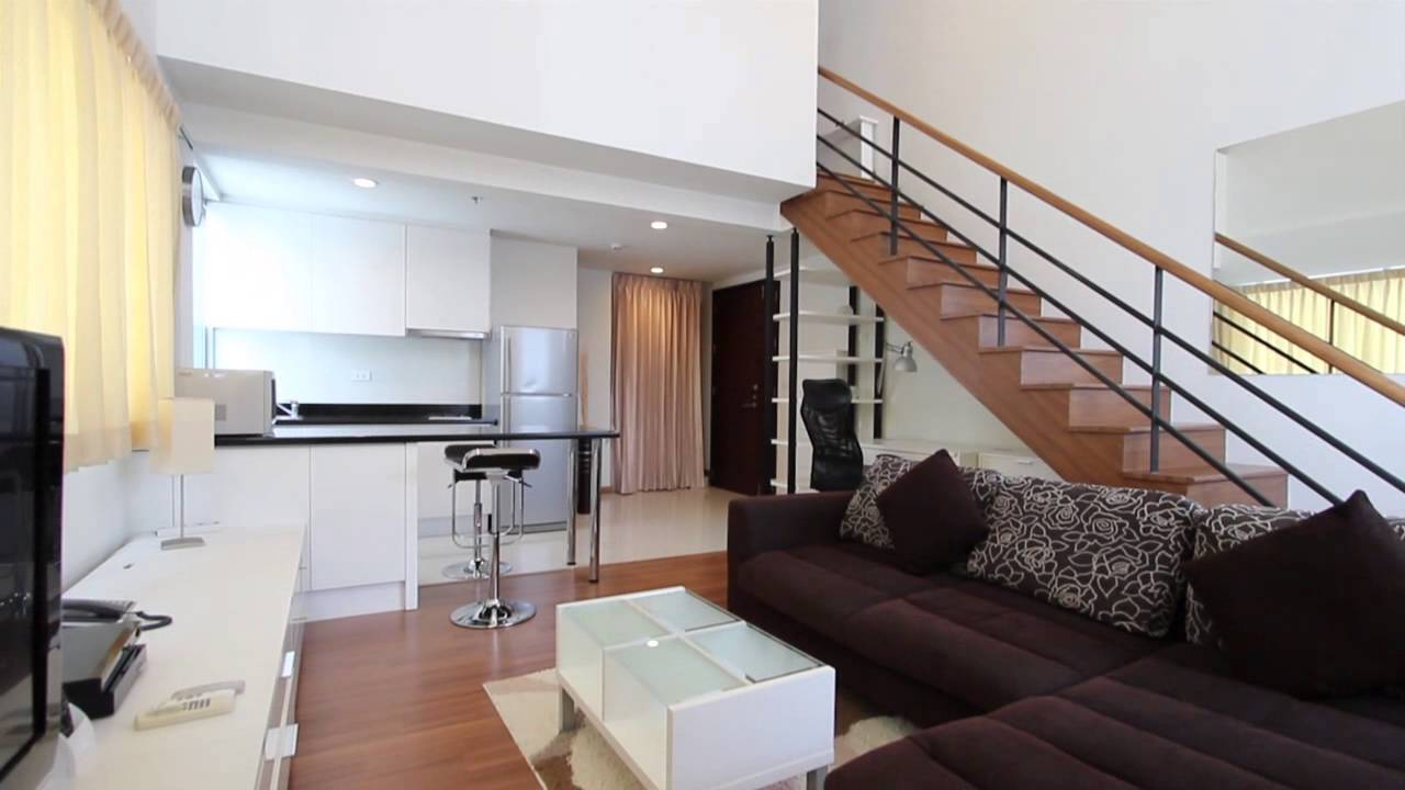 bedroom duplex condo for rent at the rajdamri s1 060 youtube