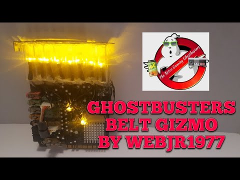 GHOSTBUSTERS Belt Gizmo Made By Webjr1977