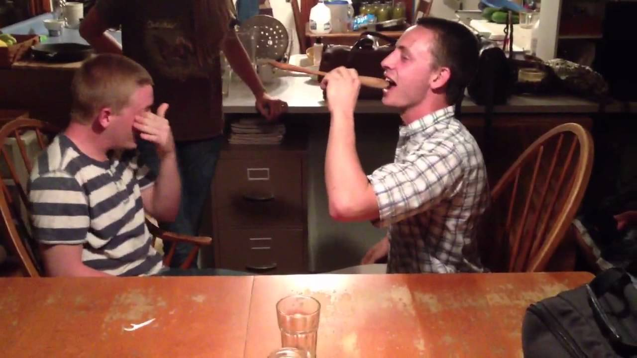 Wooden Spoon Prank Goes Bad Then Awesome Youtube