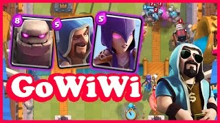 Clash Royale - NEW UPDATE GoWiWi! - Trolling with a Clash of Clans Deck!
