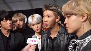 BTS interview at the American Music Awards 2017 MP3